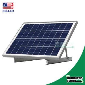 Solar Panel Universal RV Rooftop Adjustable Tilt Solar ...