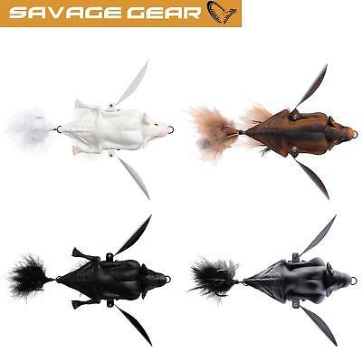 Savage Gear 3D Bat Hechtk/öder Topwater Bait Fledermaus Wobbler zum Spinnfischen auf Hecht /& Barsch Oberfl/ächenk/öder