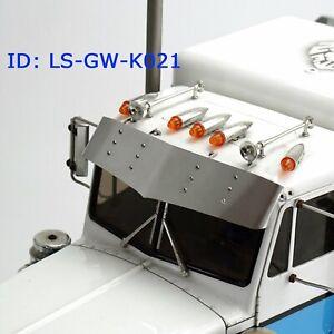 LESU-Metal-Visor-Parts-for-RC-1-14-DIY-TAMIYA-King-Hauler-Tractor-Truck-Model