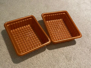 2 Step2 Pretend Play Kitchen Food Replacement Copper Bins Trays Step 2 Vguc Ebay