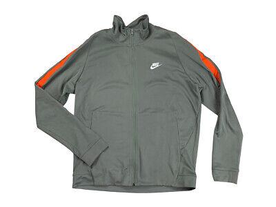 nike grey orange tracksuit