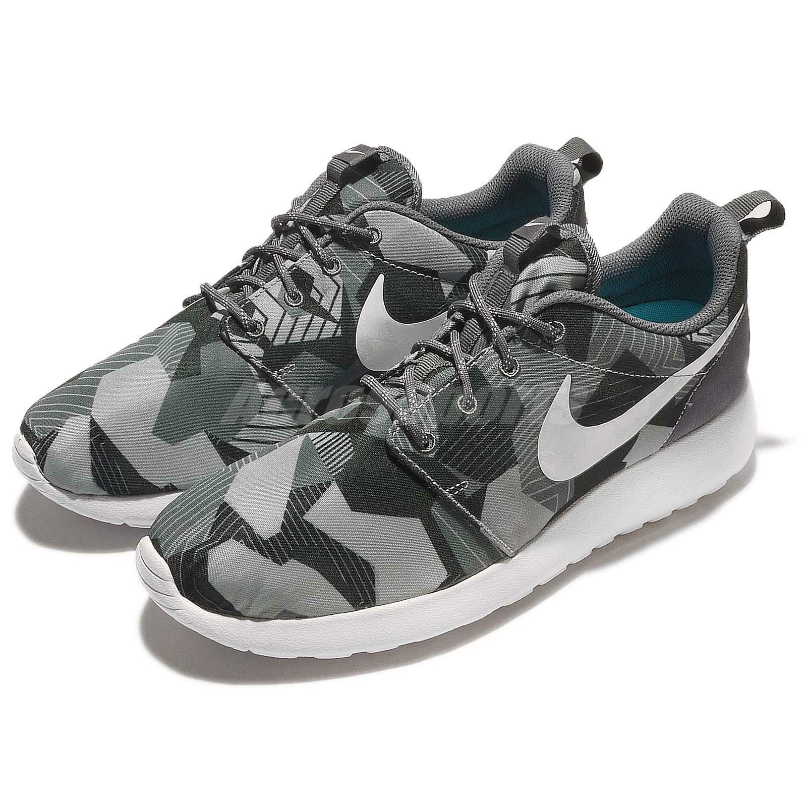 97facef6b58e Nike Roshe One Print Rosherun Grey White Camo NSW Mens Running Shoes  655206-020 85