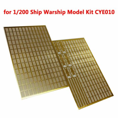 Metall Foto geätzt Handlauf /& Leiter Stand für 1//200 Warship Schiff Kit CYE010