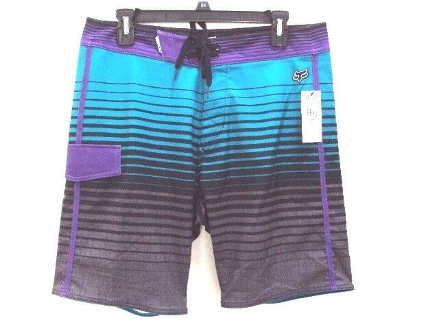 NEW FOX RACING MEN KEG STRETCH BOARD SHORT SIZE 32 08829 code 16-3