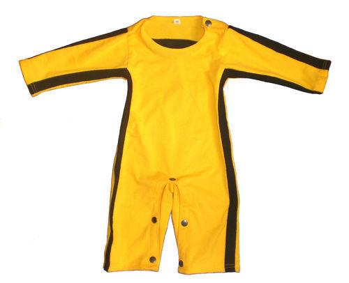 bambini ragazzi ragazze ROMPER SUIT FANCY DRESS TUTINA VESTITO Bruce Lee Kids