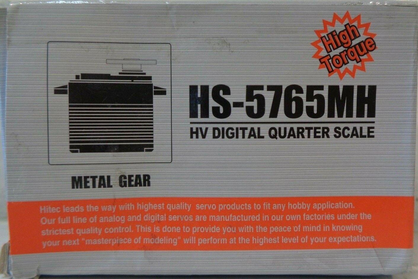 Hi-Tec  HV Digital Metal Gear Giant Servo HS-5765MH  Unvs HRC35765S  outlet online economico