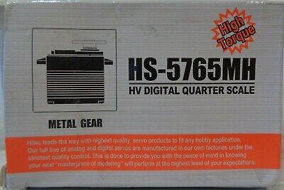 Hitec HV Digital Metal Gear Giant HS-5765MH Servo QTY 3 HRC35765S