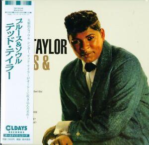 TED-TAYLOR-BLUES-amp-SOUL-JAPAN-MINI-LP-CD-BONUS-TRACK-C94
