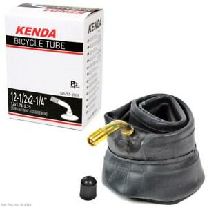 Kenda-12-1-2-034-x-2-1-4-034-70-Bent-Valve-Schrader-Kids-Bike-Stroller-Inner-Tube