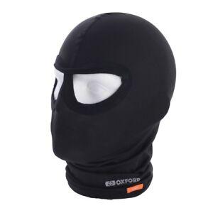 Oxford-Balaclava-Eyes-Lycra-Black-for-motorcycle-Helmet-Winter-CA010