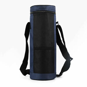 Travel Water Bottle Carrier Insulated Cover Bag Holder Strap Pouch Outdoor FM