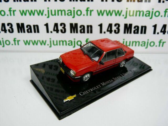 CVT4 voiture 1/43 IXO Salvat BRESIL CHEVROLET : Monza Serie I Sedan 1985