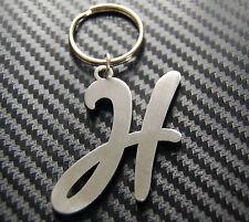 H Letter Alphabet Name Keyring Keychain Key Fob Bespoke Stainless Steel Gift