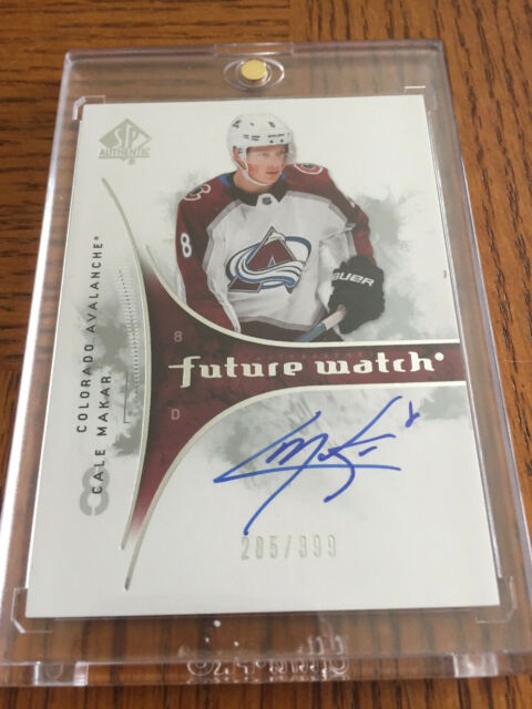 2019-20 SP Authentic 2009-10 Retro Future Watch Auto #RFWACM Cale Makar
