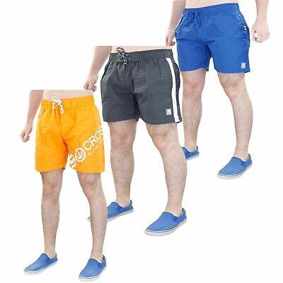 Pantaloncini Da Uomo Spiaggia Maglia Linea Esercizio Surf Calzoncini Costumi Da Bagno Crosshatch Tutte Le Taglie-mostra Il Titolo Originale