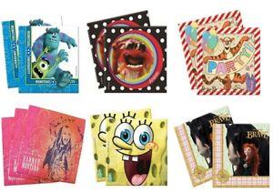 Disney-vaisselle-de-fete-anniversaire-Serviettes-en-papier-selectionnez