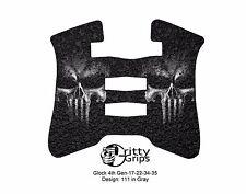 Textured Rubber Grip Enhancements for Glock 4th Gen 17, 22, 34, 35 Design 111GR