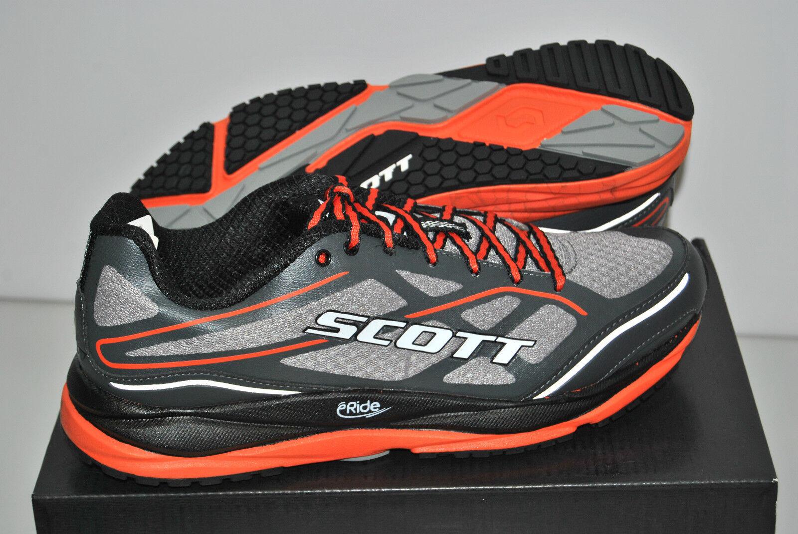 Laufschuhe SCOTT SCOTT Laufschuhe AF+ Unterstützung Grau/Orange/Schuhes AF+ Grau/Orange 282b98