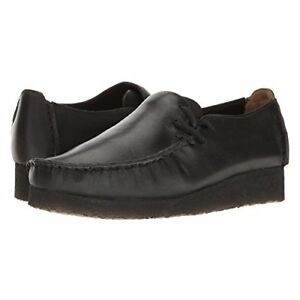 Clarks Originals Lugger Women's Black Smooth Casual Shoes 26126405