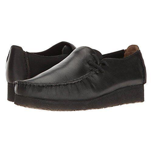 Clarks Originals LOUGRE Noir Femme Lisse Chaussures De Loisirs 26126405
