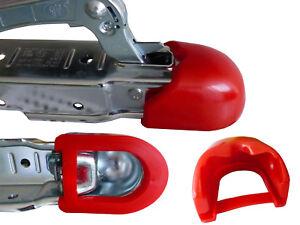 Prallschutz-Soft-Dock-Anhaenger-Zugmaul-Zugkugelkupplung-Anfahrschutz-Rot