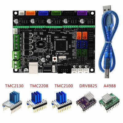 TMC2208 V1.0 TMC2130 V1.1 A4988 DRV8825 TMC2100 Stepper Motor Driver For Ramps