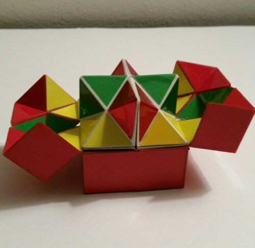 Twin Comet Cube Rare Mysterious Block Yoshimoto Japanese Fidget Puzzle Game VTG