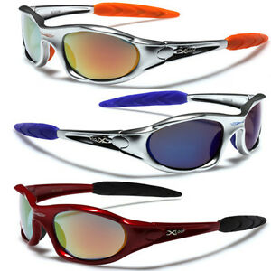 07c1616087 Image is loading Men-Sport-Wrap-Around-Sunglasses-Cycling-Baseball-Running-