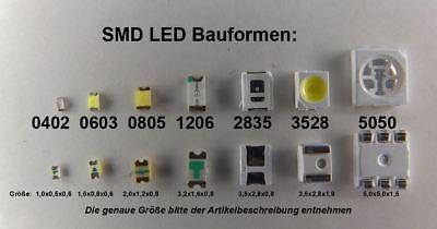 10 St/ück SMD LED 1206 Rot
