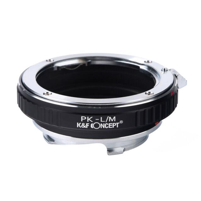 Pentax K PK P/K Mount Lens to Leica M L/M LM Mount Adapter Ring M240 M6 M7 M8 M9