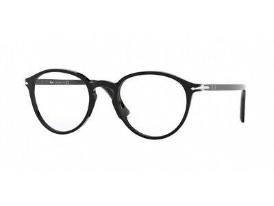 2019 Moda Occhiali Da Vista Montatura Persol Autentici Po3218v Nero 95 Meno Caro