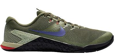 New Nike Metcon 4 Olive Canvas/Indigo
