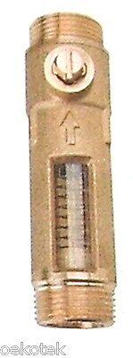 """Durchflussmesser, Strangregulierventil  Anschluss 2 x 3/4""""AG (DN 20)"""