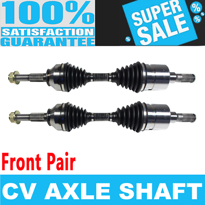 Driver or Passenger Side Left or Right Front GSP NCV10047 CV Axle Shaft Assembly