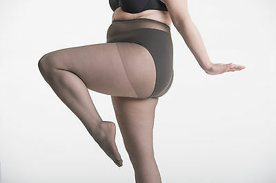 Cheap Plus Size tights for short fat women with chunky thighs & hips. To UK22