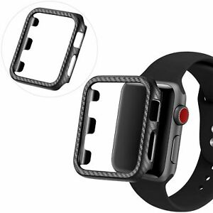 Protective-Carbon-Case-For-Apple-Watch-Black