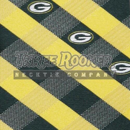 Green Bay Packers Tie Packers Neckties Mens Licensed Football Neck Ties NWT