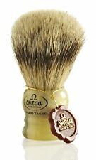 Omega 599 Pure Badger Hair Shaving Brush
