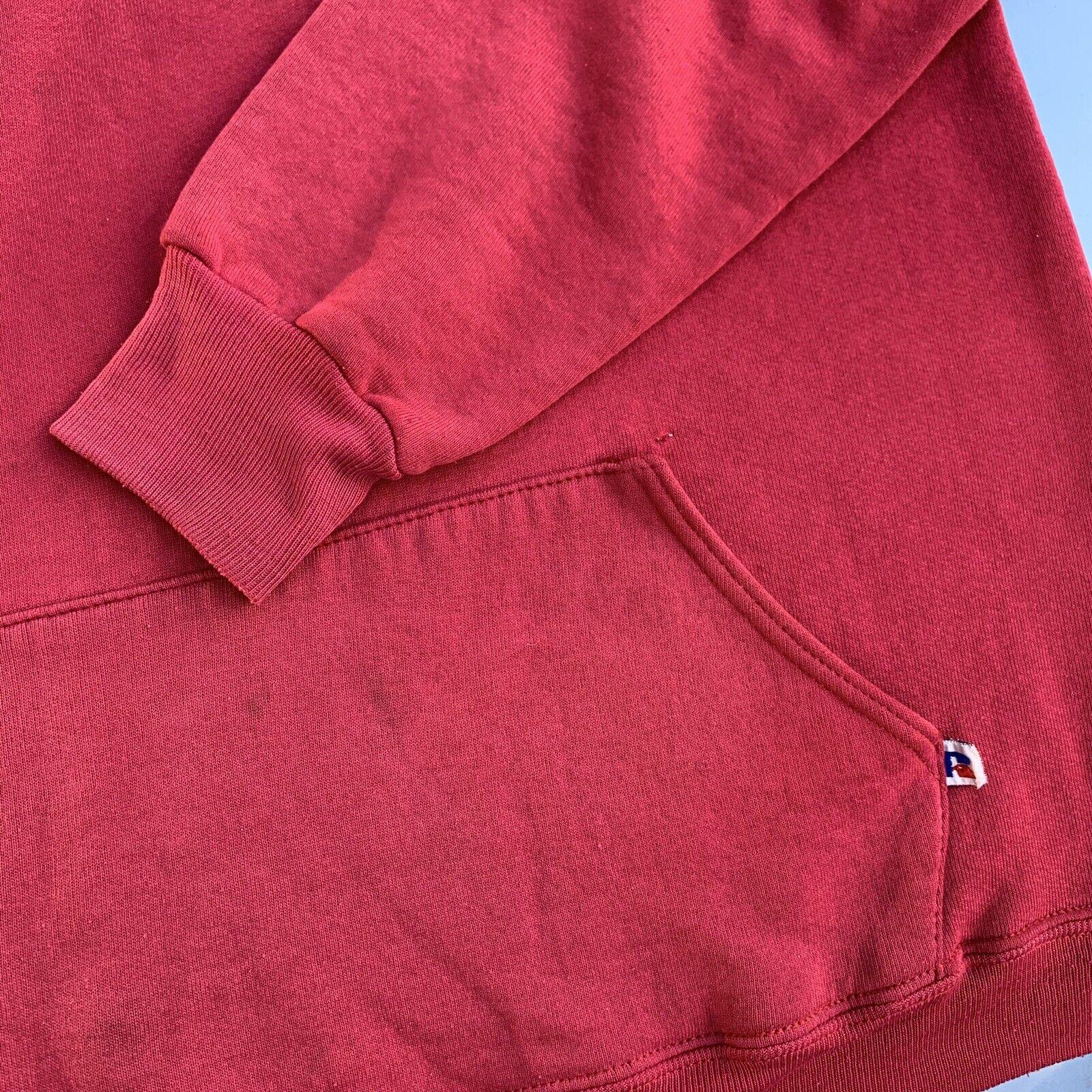 Vintage 70s Russell Athletic Hoodie Sweatshirt US… - image 7