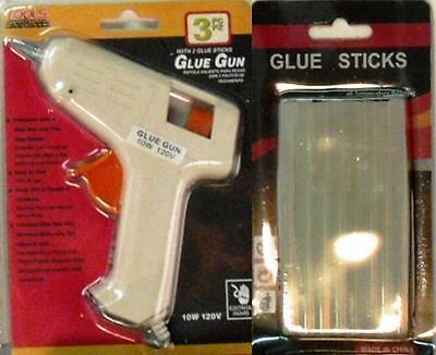 Glue Gun, Hot Glue Gun, Hot Melt Glue Gun, with 26 FREE Glue Sticks 10W 120Volt