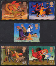 QEII 1998 Famous Children's Novels Complete Set SG2050 - 2054 Unmounted Mint