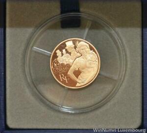 R7241 Rare Coffret France 50 Euros Nana Emile Zola Or Gold 2011 Proof BE COA