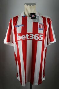 Stoke-City-The-Potters-macron-Trikot-jersey-Gr-XL-7XL-Home-NEU-2016-2017