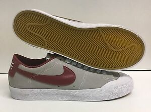 new concept 6ffd3 c9f4e Image is loading Nike-SB-Blazer-Low-XT-Platinum-Cedar-White-