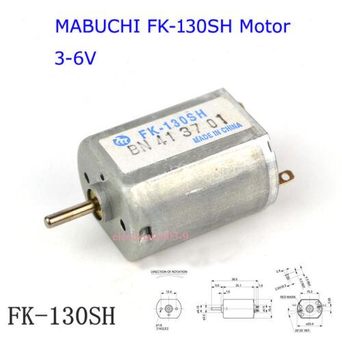 Original Japan MABUCHI FK-130SH Motor for Four-wheel Car drive Robot DIY Hobby