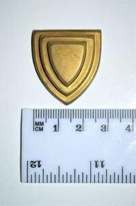 Original Antiguo de fundición de latón de muebles de montaje en espejo cartela Emblema Rm2 Antiques