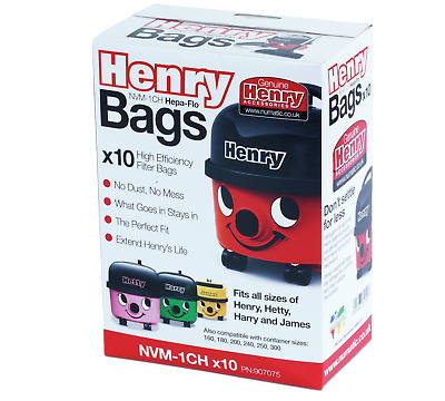 20 x Vacuum Bag Paper Bags for Numatic Henry Micro HVR200M-22 Hoover