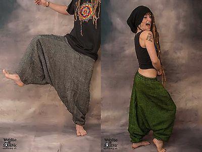 Thick Warm Harem Ali Baba Aladdin Trousers Winter Yoga Fairtrade Hippy Woolen