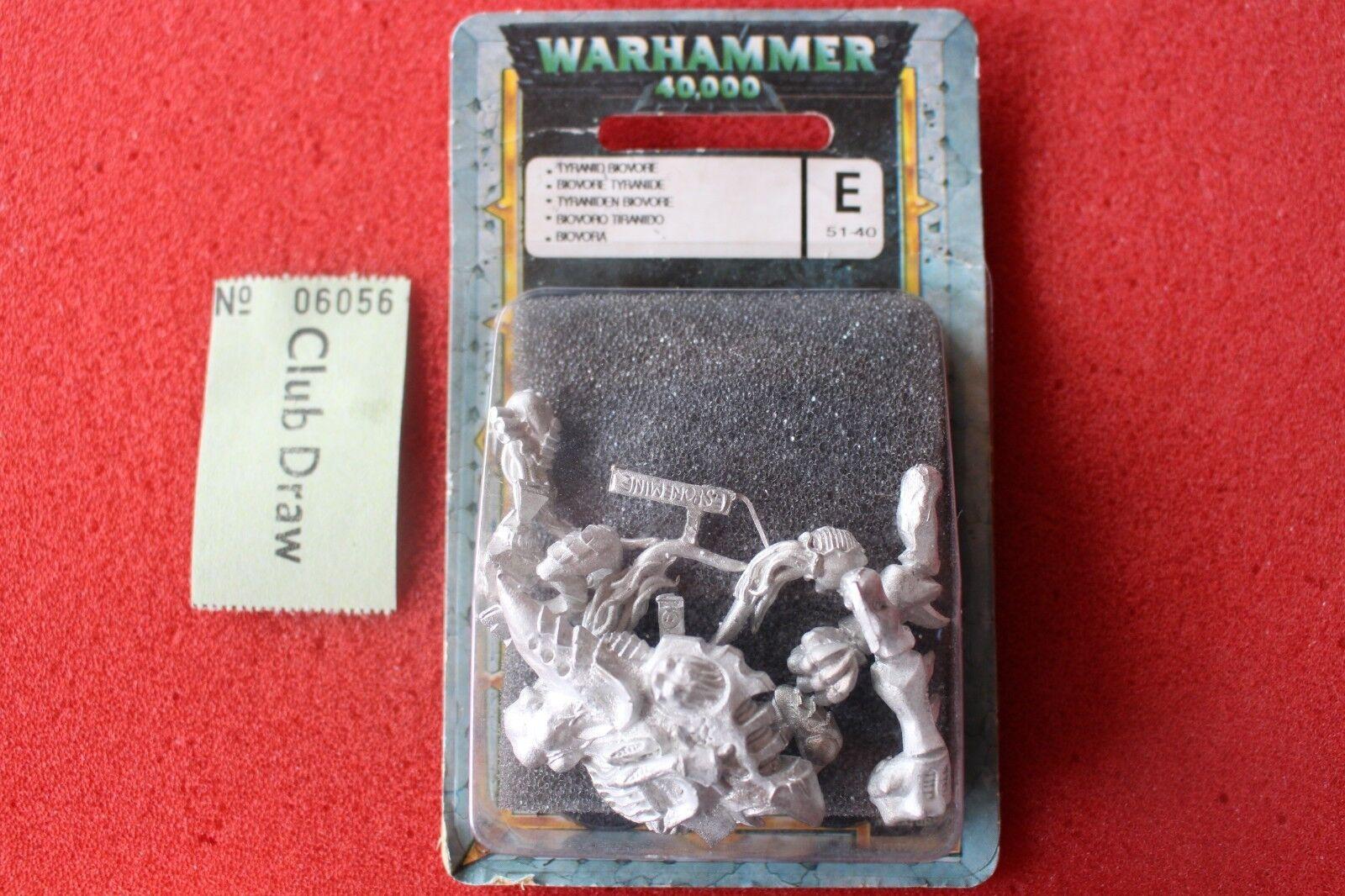 Games Workshop Warhammer 40k Tyranid Biovore Metal New Figures BNIB Tyranids GW