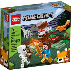 LEGO-21162-MINECRAFT-THE-TAIGA-ADVENTURE-74-Pieces-Brand-New